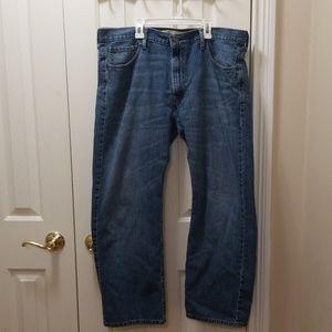 Levi's 569 blue jeans sz 36x30